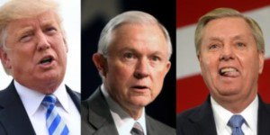 Trump, Sessions and Graham